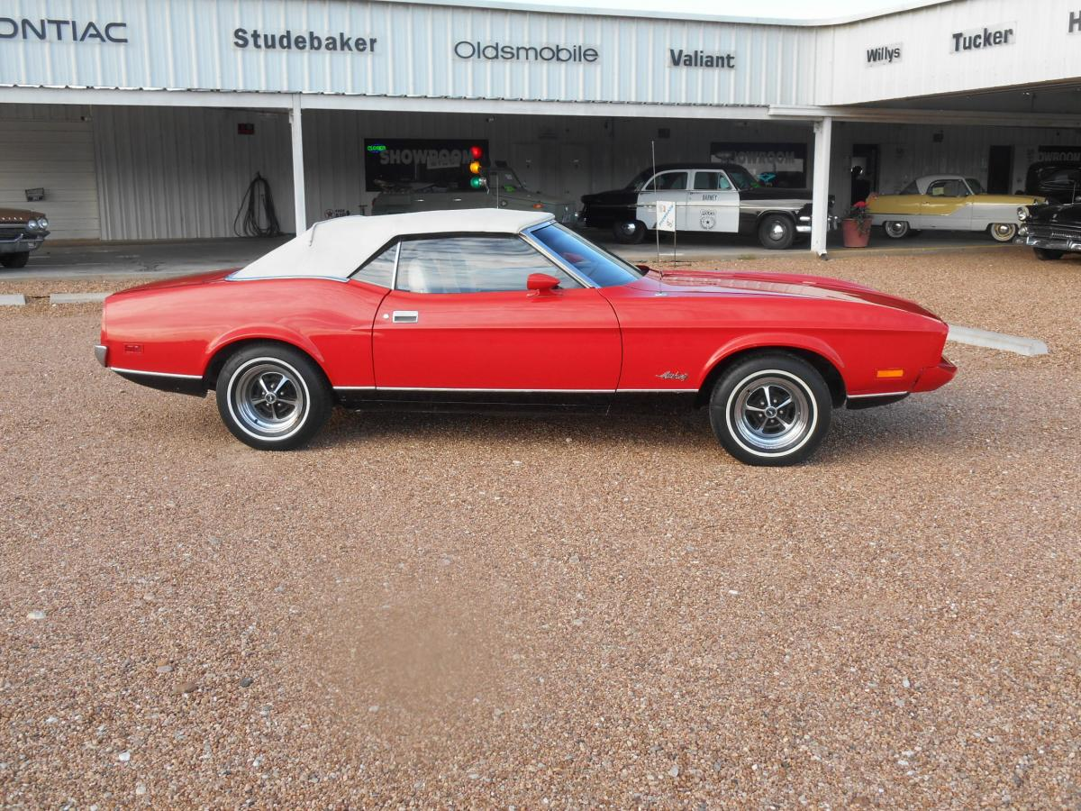 RARE 1973 MUSTANG CONV.  ASKING ONLY $ 13,973